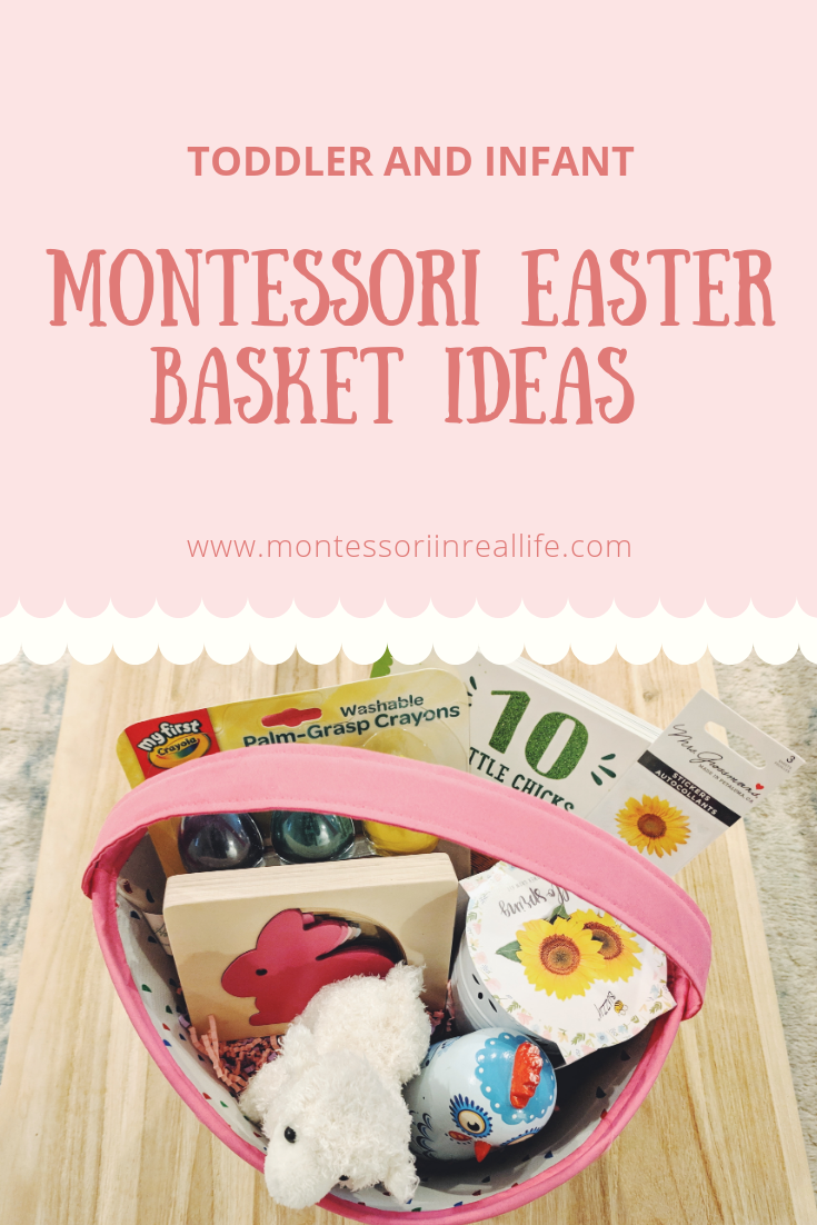 Infant and Toddler Easter Basket Ideas - Montessori in Real Life
