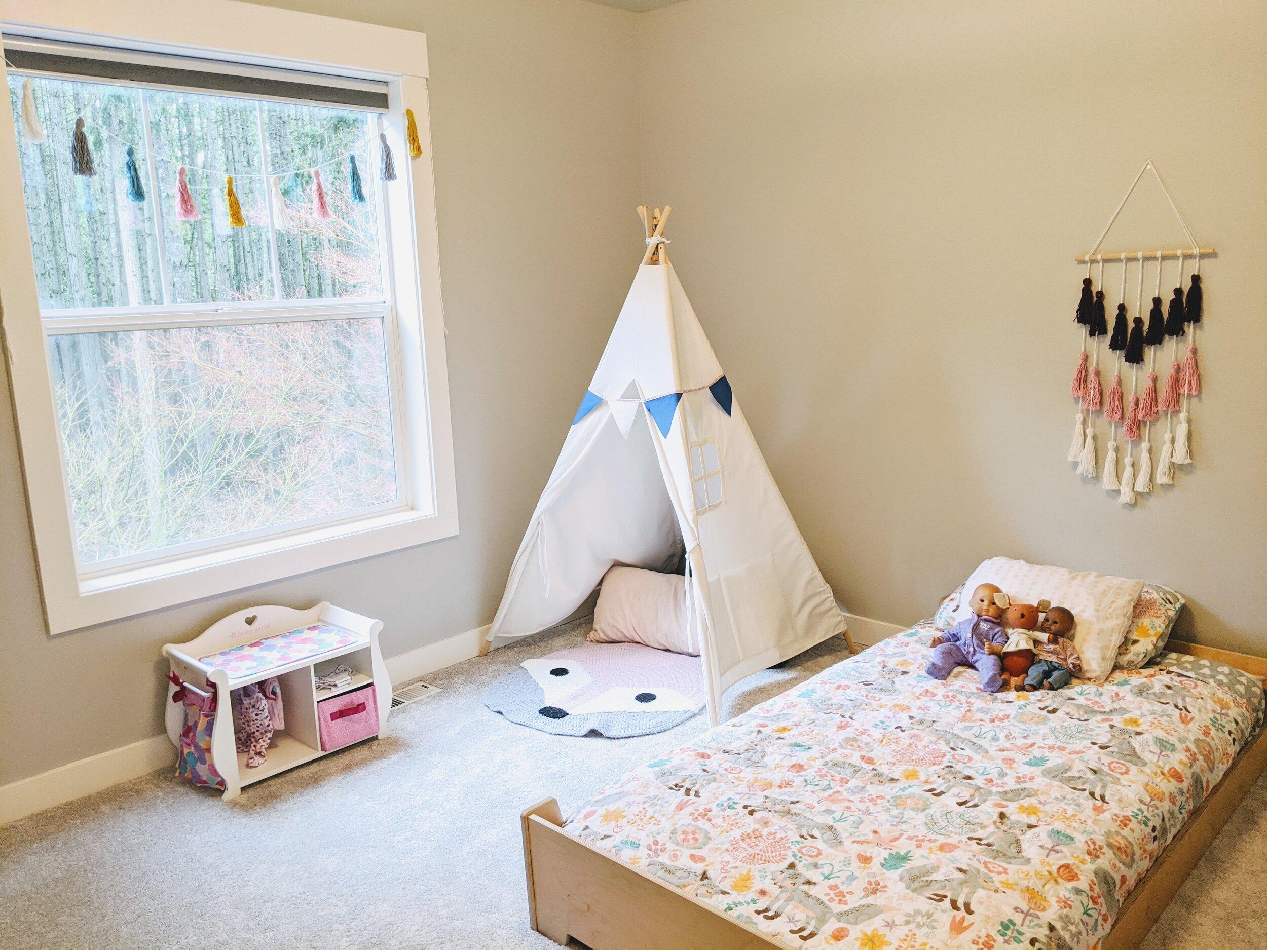 Our Montessori Bedrooms Tour Montessori In Real Life