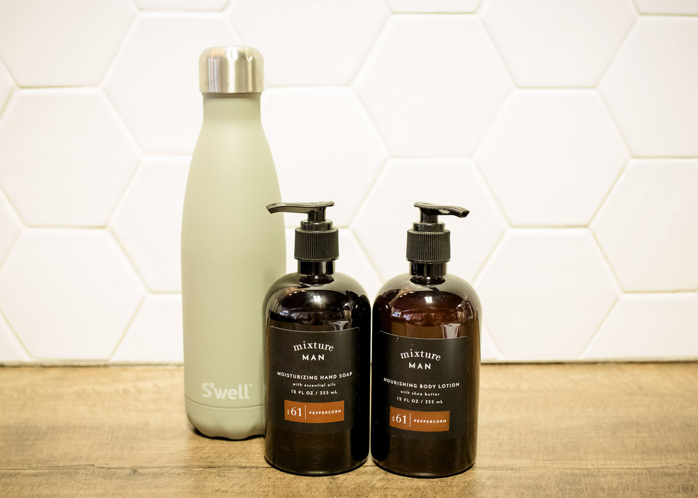 THE TEEN BOY - Mixture Man Hand Soap | $17Mixture Man Body Lotion | $23S'Well Bottle | $35