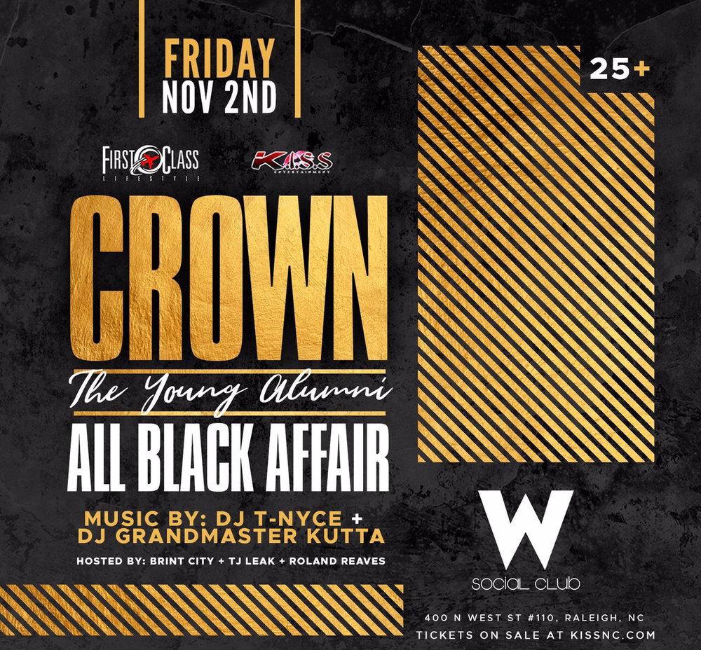 Crown All Black