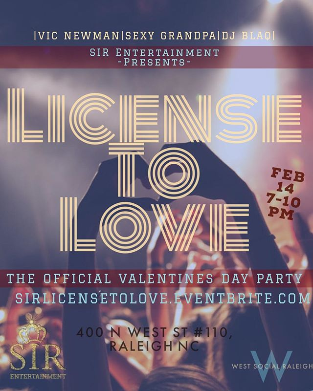 "🚨🚨🚨sirlicensetolove.eventbrite.com🚨🚨🚨🚨🚨🚨🚨🚨🚨🚨🚨🚨 5$$ ADMISSION SPECIAL!!! GO TO sirlicensetolove.eventbrite.com AND PUT IN ""SIRVDAY5"" UNDER DISCOUNT CODE AND GET YOUR TICKETS FOR 5$🚨🚨🚨🚨🚨🚨"