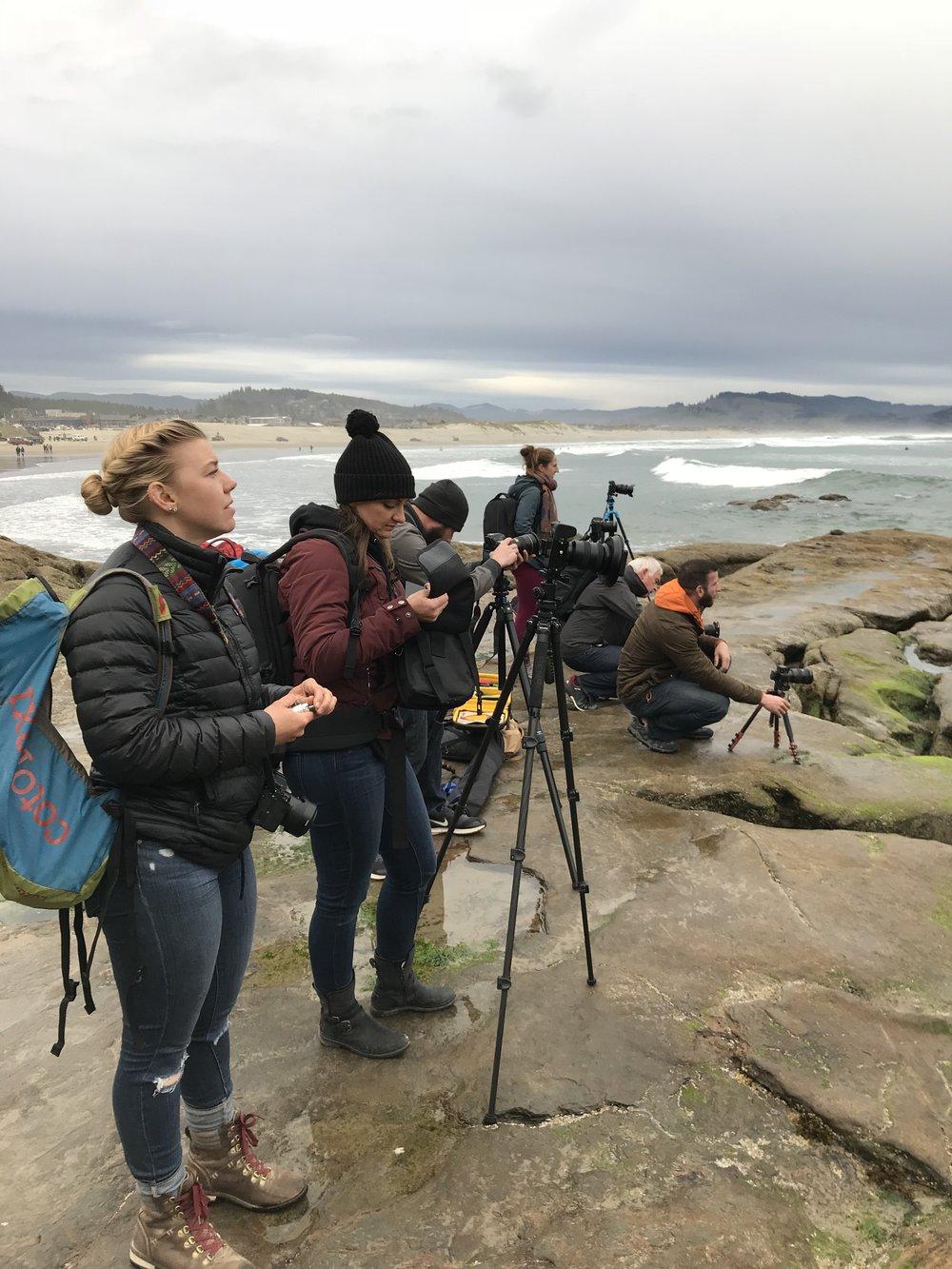 Wayfare Collective  Group Workshop/ Photo Adventure - April 2018