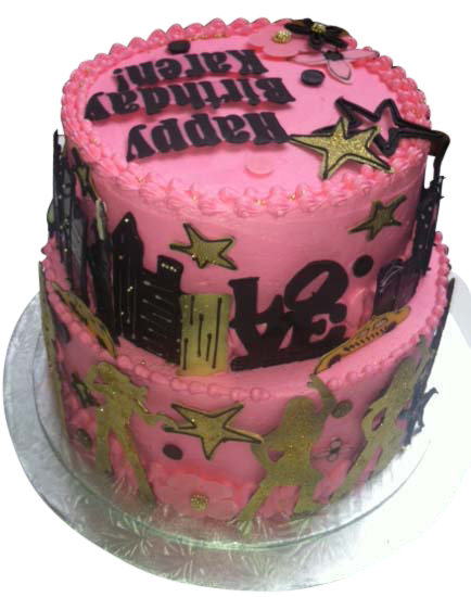 BeBe Cakes NYC Disco Cake