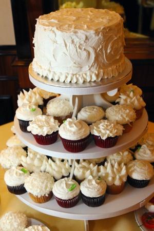 Cake and Cupcake Flavors - VanillaChocolateDeep ChocolateBananaStrawberryCherryLemon ZestOrange ZestCarrot CakePumpkin SpiceCinnamon Sour CreamRed VelvetRainbow (Vanilla)GingerbreadORDER NOW