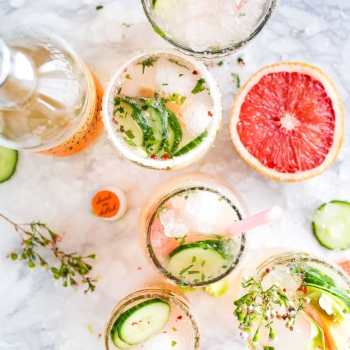 Happy Hour drinks that won't sabotage your diet via myBody+Soul