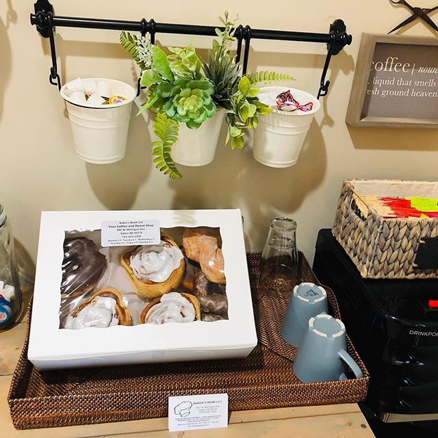 Thank you Baker's Nook! We love treating our clients to yummy donuts ❤️Happy Spring!