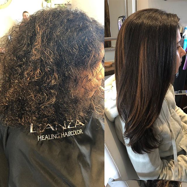 This girl was a trooper for her 3 1/2 hour Pure Brazilian treatment! #purebrazilian
