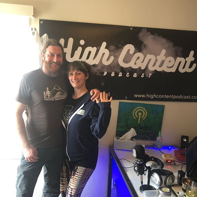 Just dropped our episode with @webeekind✨🐝 Link in bio 🎧🎤 #CBD #products #podcast #highcontent #humboldt