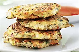 Courgette Fritters