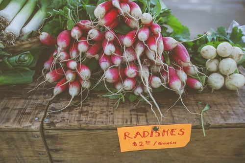 Radish & Apple Salad