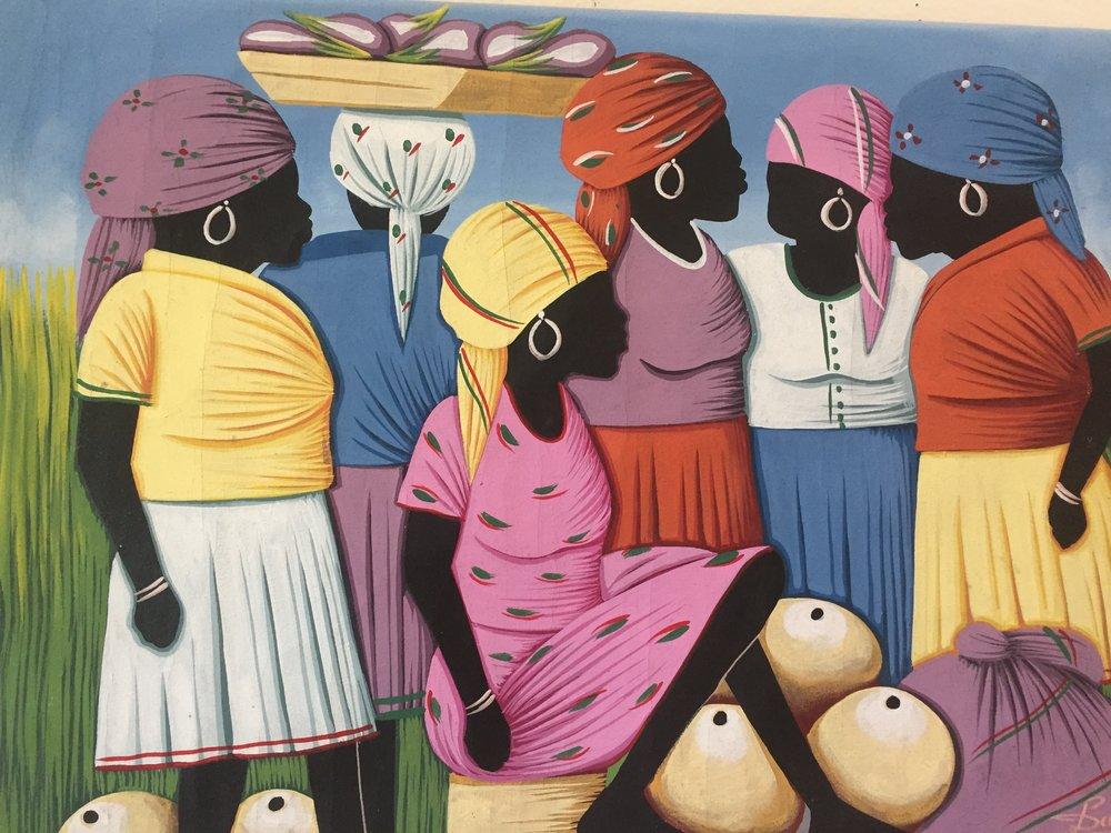 Mural from Haiti