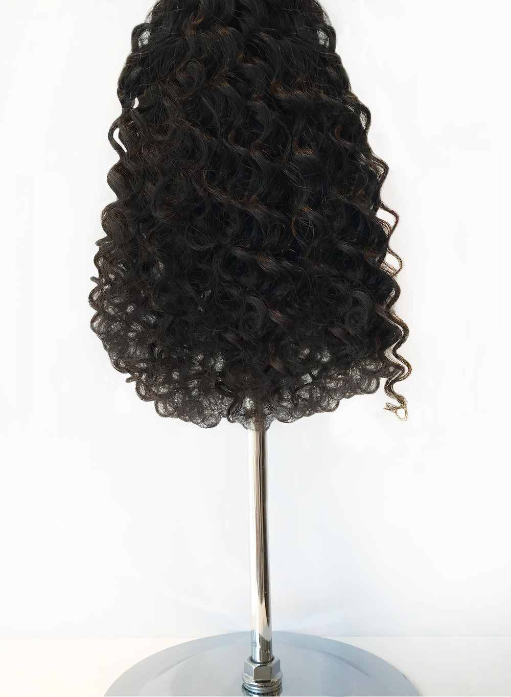 Our beautiful island inspired - Latina curl, gives you an undeniable heavily textured curls - that are set into a natural looking curl pattern and allows you to create a beautiful curly hairstyle or brush through for a soft natural afro-inspired style. It can be blow dried and flat ironed but not recommended as it will start to loosen the curl.