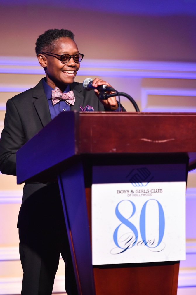 Mel Culpepper at the 2018 80th Anniversary Gala (Photo: Vince Bucci)
