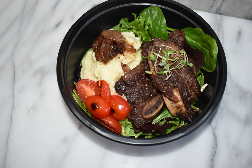 Slow Cooked Shortribs -