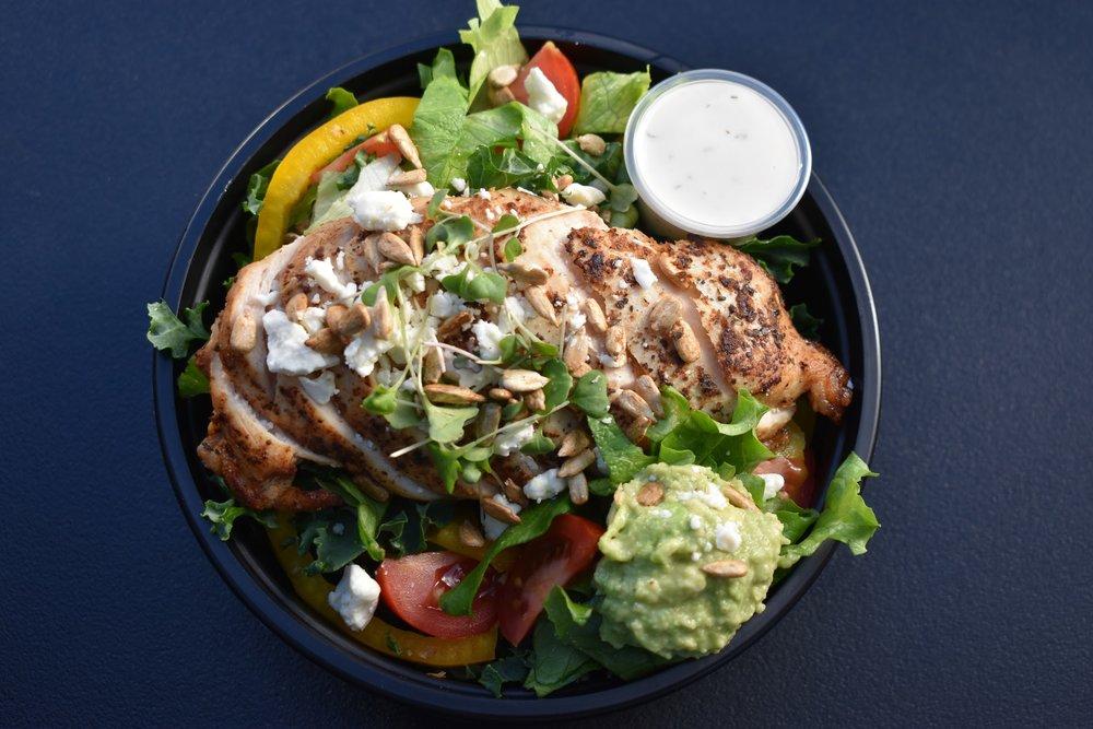 Kale Chicken Salad -
