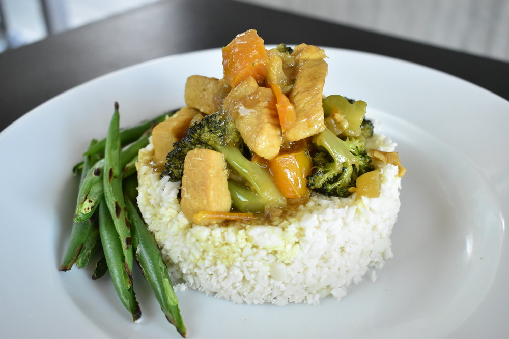 Coconut Chicken Curry -