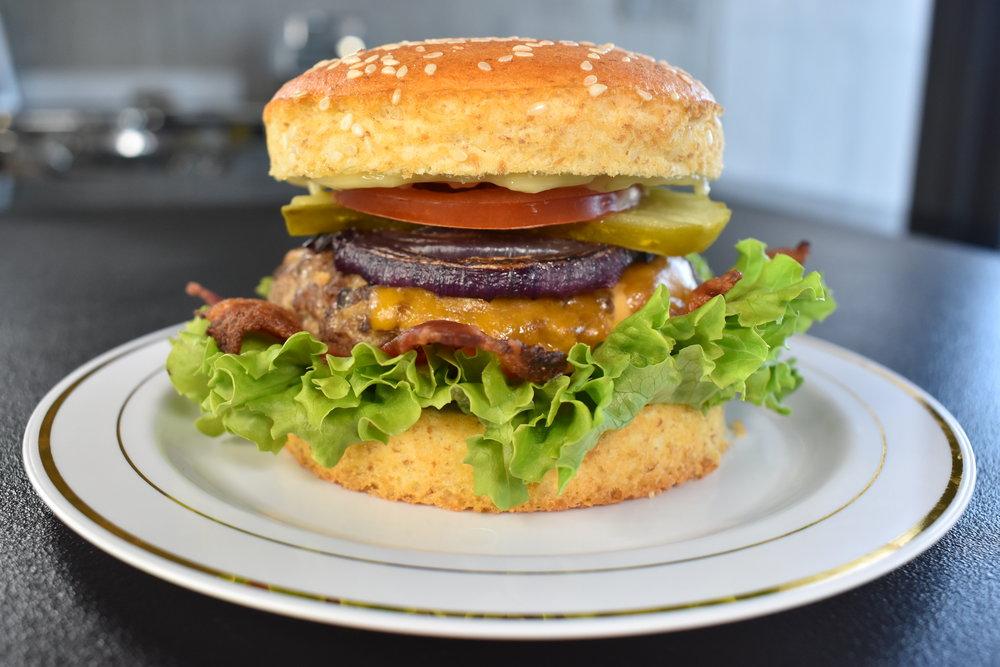 Bacon Cheddar Burger -