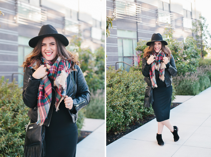 Living That Leather Jacket Life -