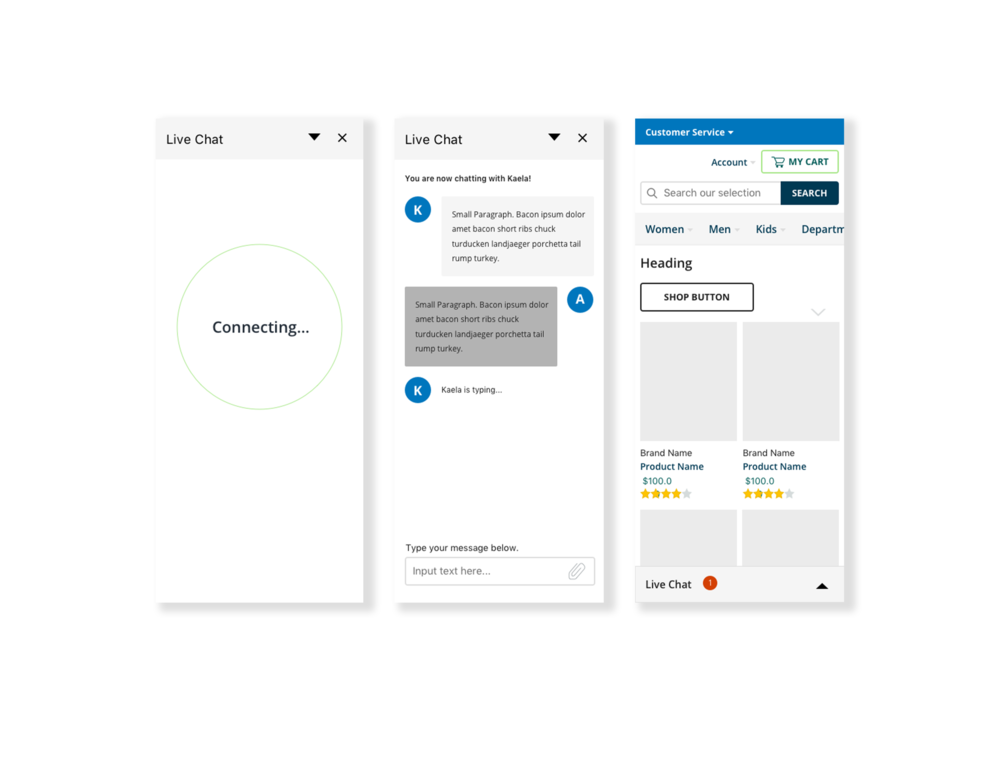 Mobile Web UI
