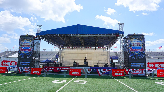 Tomcat Roofs - Ideal roofs for any event.