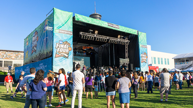 Mobile Stages - Roll it in, park it, open it up, enjoy the show.