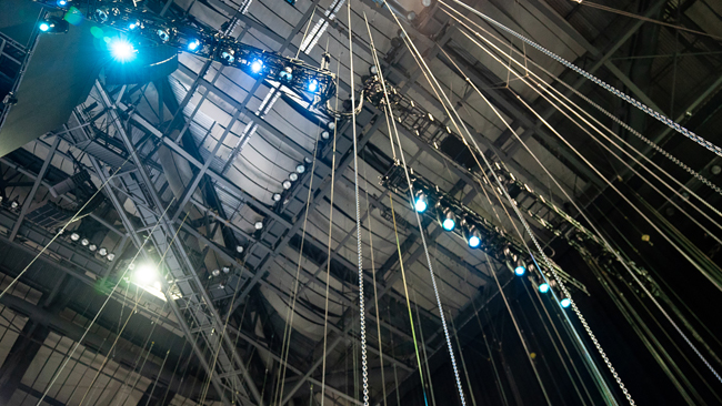 Rigging Equipment - We have everything it takes to get your show off the ground safely.