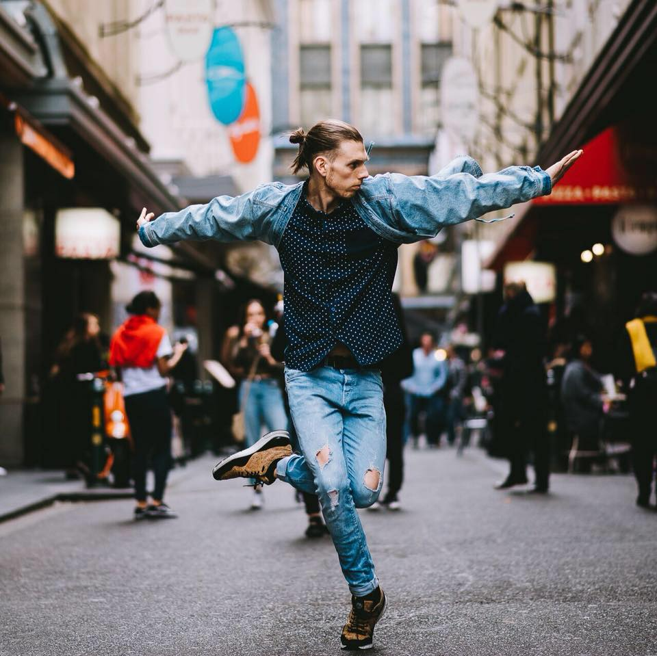 "- Jack began dancing at the age of 13, after a childhood filled with gymnastics comps. His interests in freestyling created a number of opportunities for him to represent the ACT at national competitions. He moved to Melbourne in 2010 to pursue a career in the performing arts and has since then started what he hopes to one day become and empire. His passion for teaching and love for dance have fused to create a place where others can learn and develop their skills alongside this highly sort after Melbourne based Choreographer.Jack has had a immense performing career that's seen him work on a number of large scale events such as; the Footy Show Grand Finale Players Review, Australian Hip Hop Champs, Grounded, Short and Sweet Dance Festival, LEGENDS IN CONCERT Australian/China Tour 2018, and numerous corporate gigs at Crown Casino for brands like Hype, Platypus, NAB, among many more.His choreographic achievements include co-choreographing a number of productions for contemporary company Collaboration the Project. He was hand picked to teach at Victorian Dance Festival in 2016/14, he was assistant to world-renowned choreographer Erica Sobol on her teaching tour in Guam.Jack still travels nationally to teach workshops and set choreographic material all around Australia as well as in and out of Primary/Highschools and dozens of local dance studios. He has also worked/lectured within the prestigious University VCA (Victorian College of the Arts) and in 2017/18 at a number of Studios in Japan. Jack had the pleasure of working alongside ""Inkrewsive"" (a Hip Hop orientated dance program for those with mental impairments) where he helped developed a full scale production with over 25 cast members in 2017.He has adjudicated a number of competitions around Melbourne including the ATOD National finals, ""Dance Fest"", and ""Dance Off"", and has recently helped create the new Hip Hop syllabus program from CSTD, and SFD.Jack believes his capacity to connect with students is his greatest strength, he loves working with all ages and abilities and strives to create a classroom environment where everyone feels comfortable to step outside their box and discover what they are truly capable of."