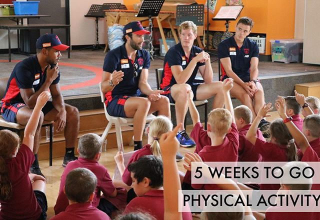 Physical activity: good for the mind and body 💭📙🎓 Positively influences #concentration, #memory and #classroom #behaviour and playing organised #sport results in better grades at #school, less dropouts and results in higher levels of post-secondary #education attendance. Win Win #Win ✔️✔️✔️ 📸 Melbourne Football Club