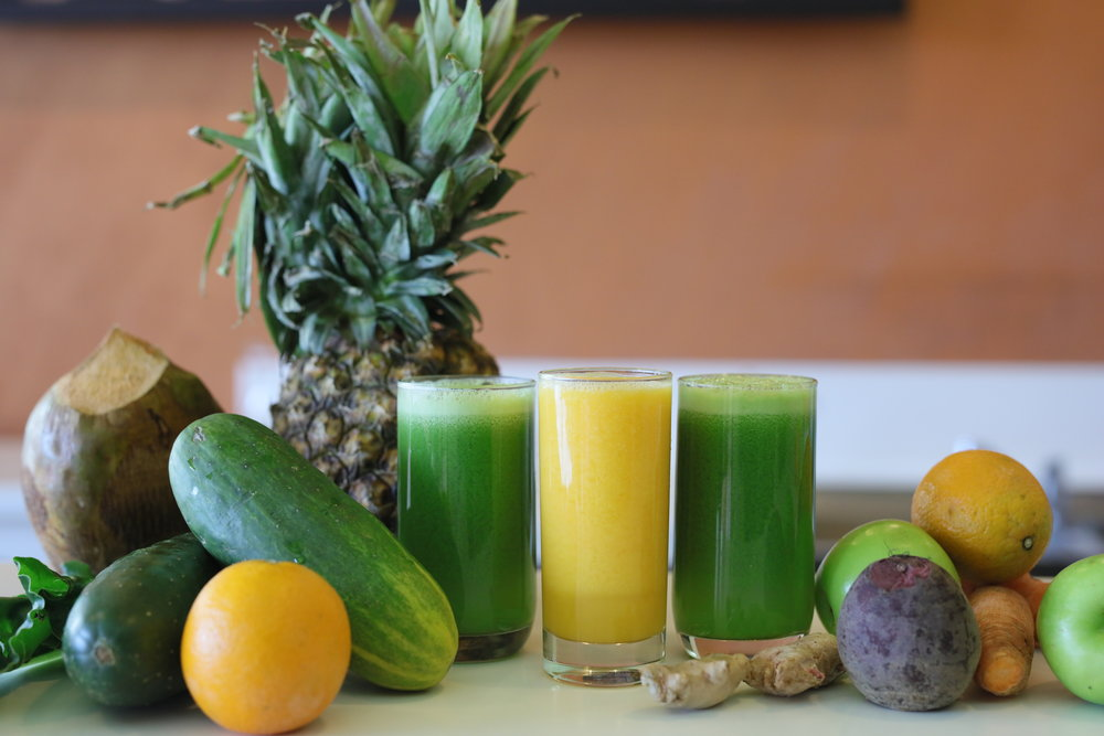 Order it fresh or have one waiting for you. - We have created a variety of Superfood juice and smoothie options to pair perfectly with your routine.