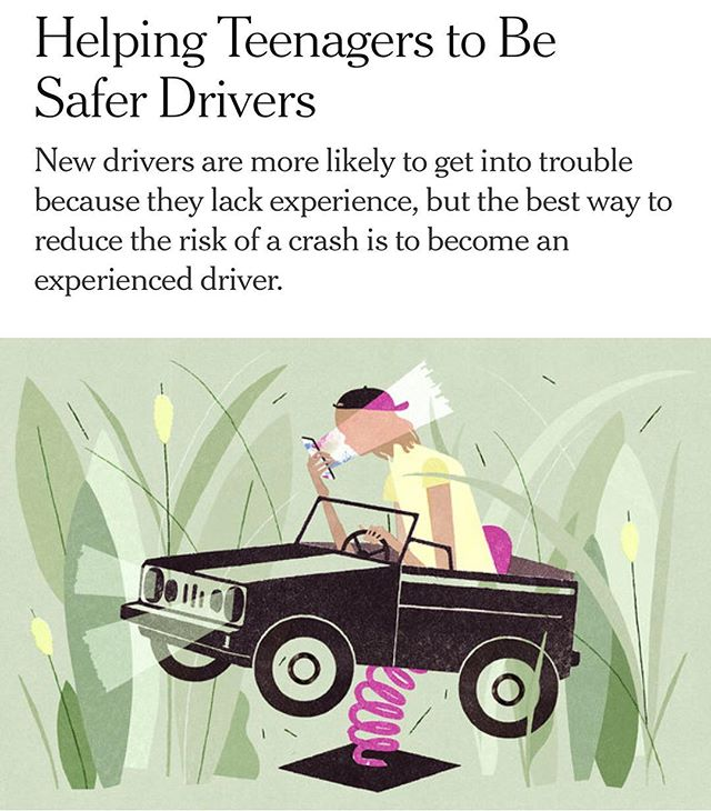 By 2020 - in accordance with the United Nations Sustainable Development Goals #3 Ensure Healthy Lives & Promote Wellbeing for all at all ages -  halve the number of #global #deaths and injuries from road traffic accidents. NY times article focused on 'Helping #Teenagers to Be #Safer #Drivers' || https://nyti.ms/2zrsT0v?smid=nytcore-ios-share || #health #preventthepreventable