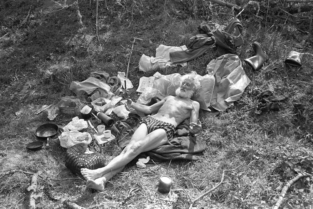 John Bennett, traveller, Addisford, Dolton, 1980