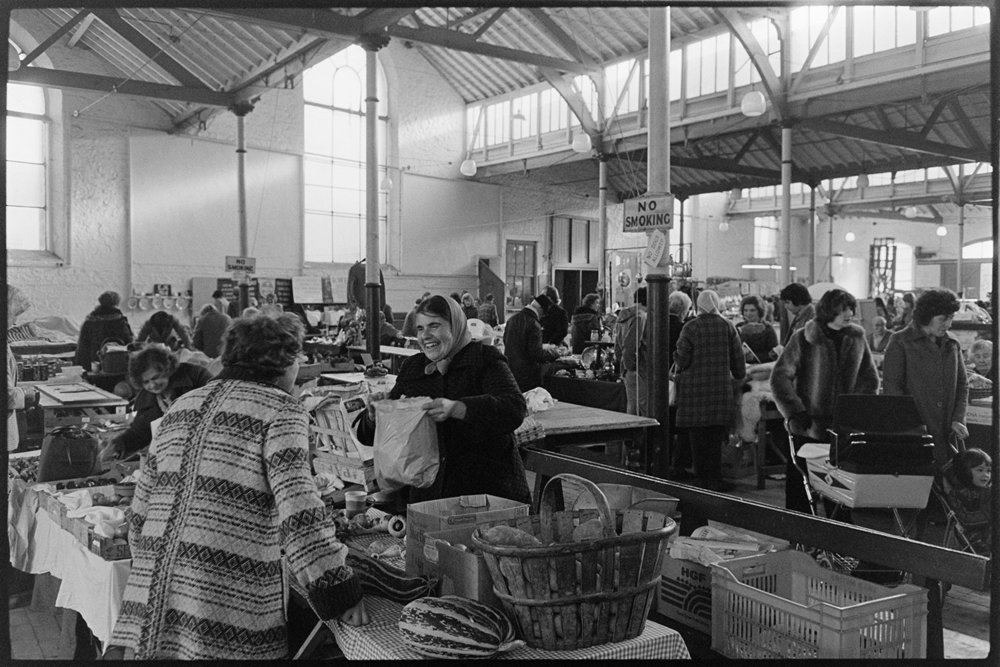 Documentary photograph by James Ravilious for the Beaford Archive © Beaford Arts