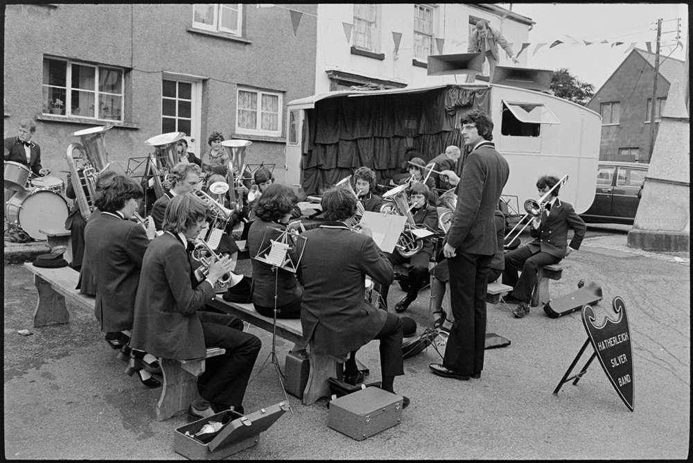 Band, Winkleigh, July 1980