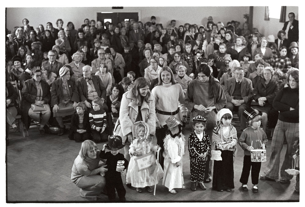 Children's fancy dress competition, Dolton, October 1975