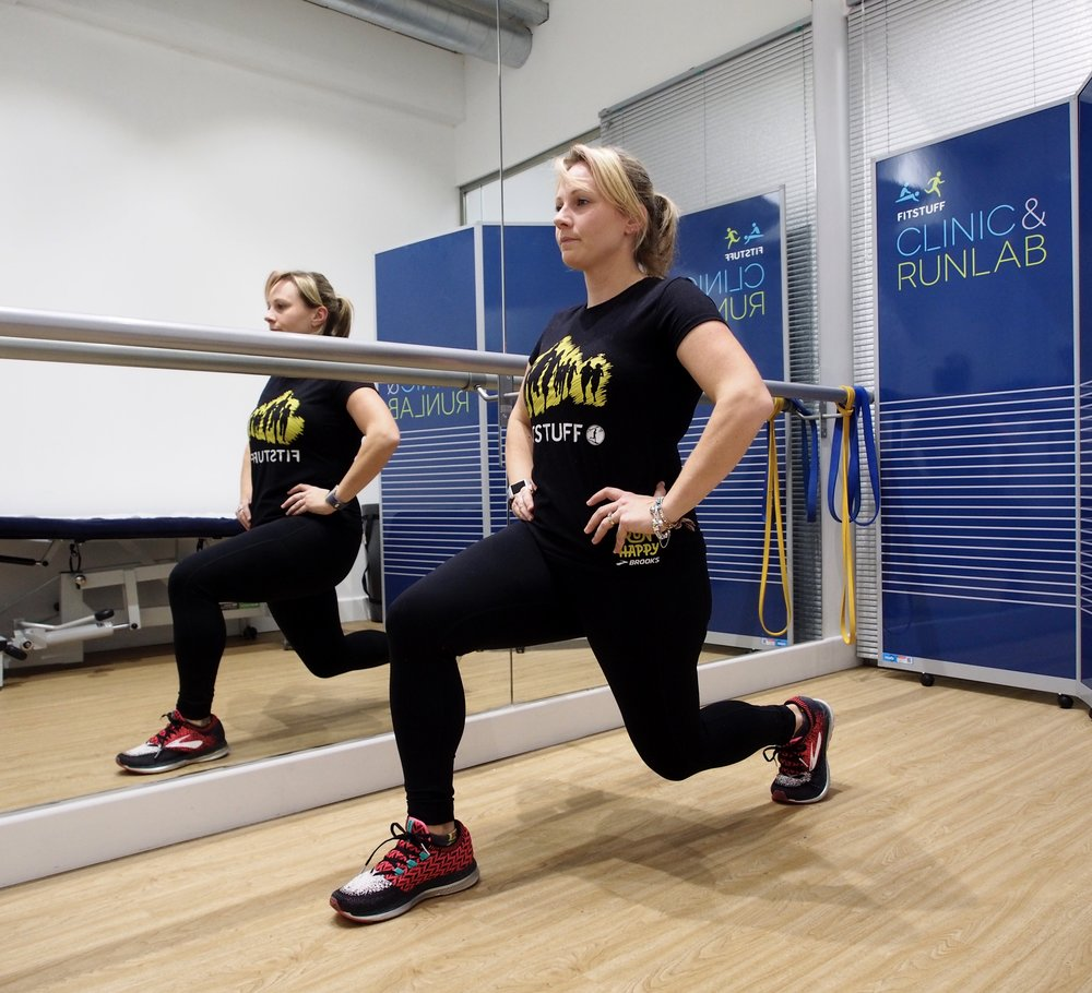Lunges are a good starting point for building a foundation of strength.