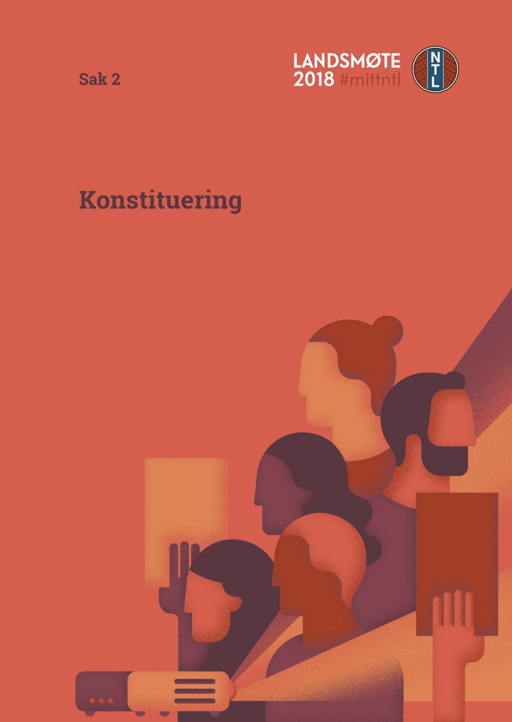 Konstituering - Last ned:Sakliste og forretningsorden med innstillinger til dirigenter og komiteer