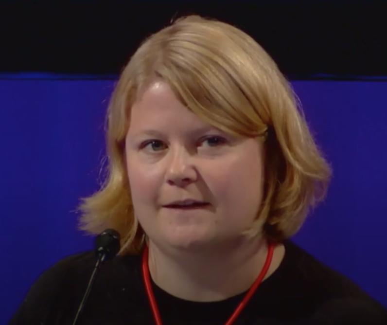Populært NTL Ung : Lone Lunemann Jørgensen og resten av NTL Ung dominerte debatten om NTLs egen organisasjon på landsmøtet.