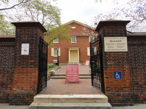 Arch Street Quaker Meeting House, 4th & Arch Streets, Philadelphia: the location of the IMPROVATHON 2019!