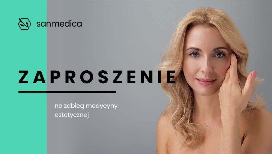 Podaruj piękno - Kup zaproszenie na zabieg medycyny estetycznej, a w prezencie dorzucimy 10% wartości!Więcej informacji w regulaminie promocji.