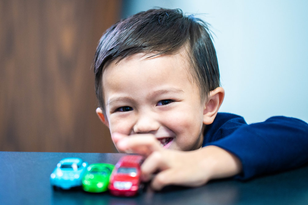 Meet Jax! - Jax is one of Kaiperm's youngest Kangaroo Club Members! He loves playing with his toy cars and saying hi to all of his friends at Kaiperm!