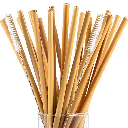 Reusable and Compostable Straws