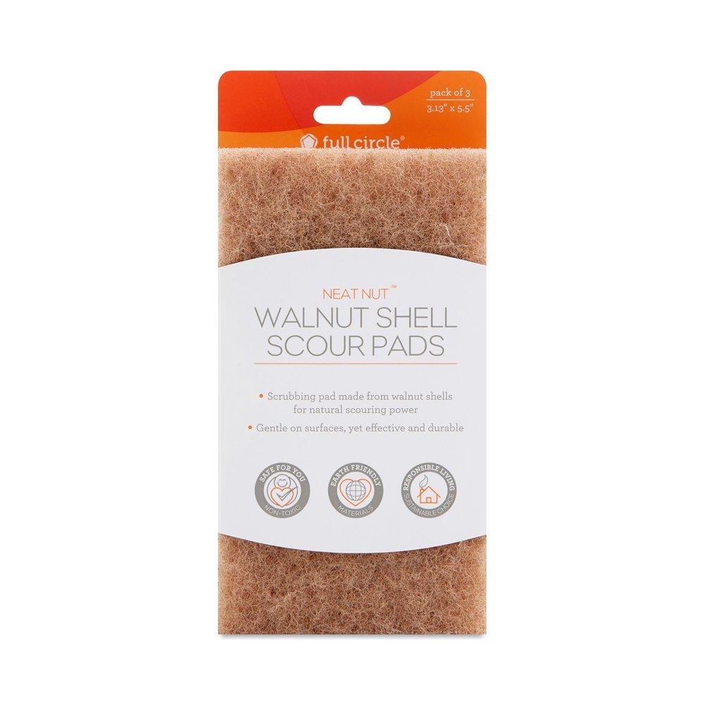 Walnut Scour Pads