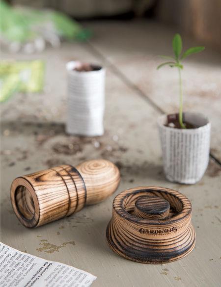 Paper-Pot Maker