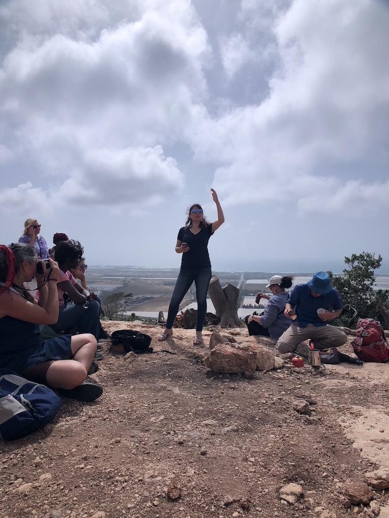 Sarah L teaching Mt Carmel.jpg