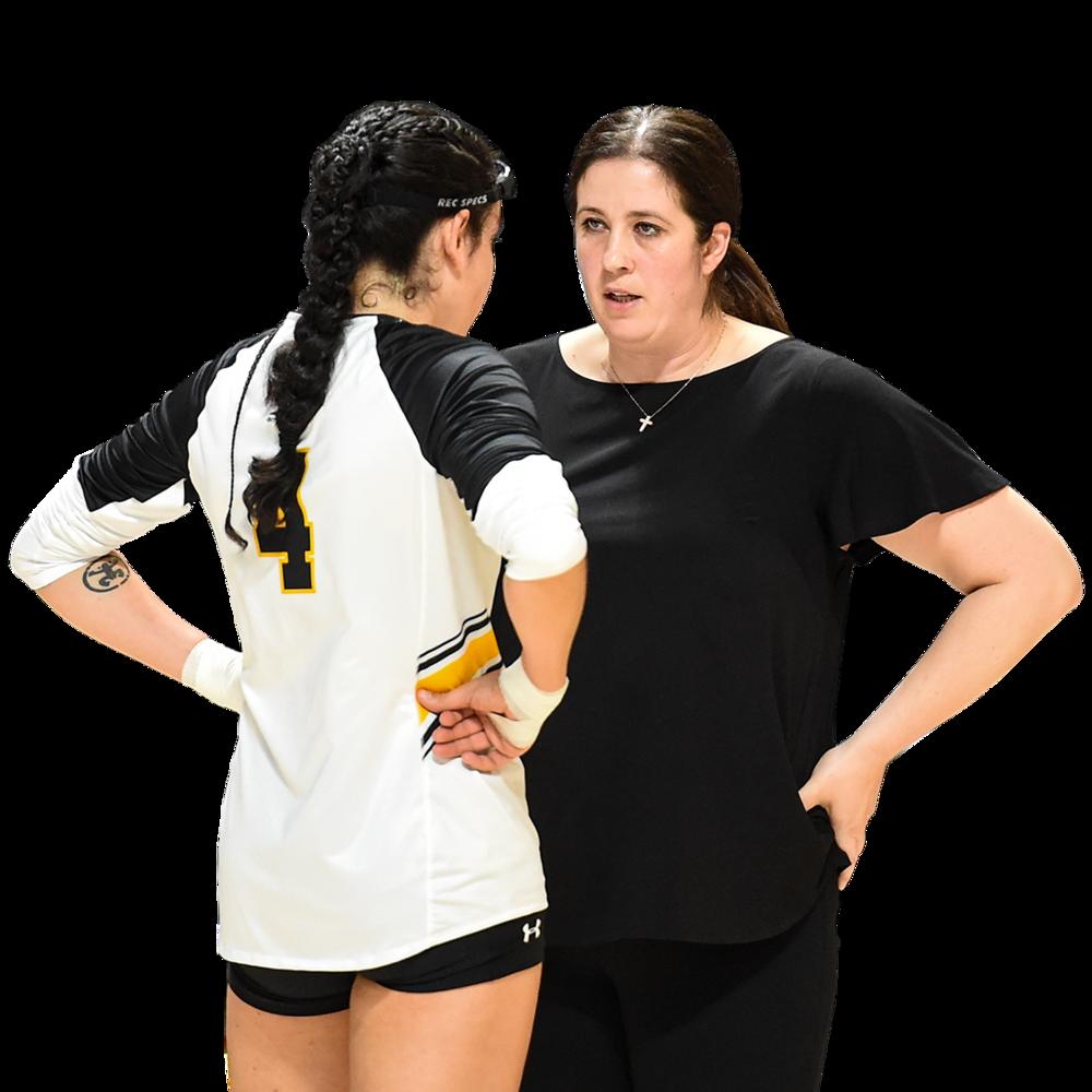 Cristina Robertson  UMBC Volleyball Head Coach