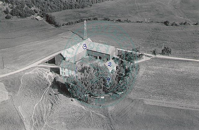 Blakli gård 1952, sett fra nord-vest.