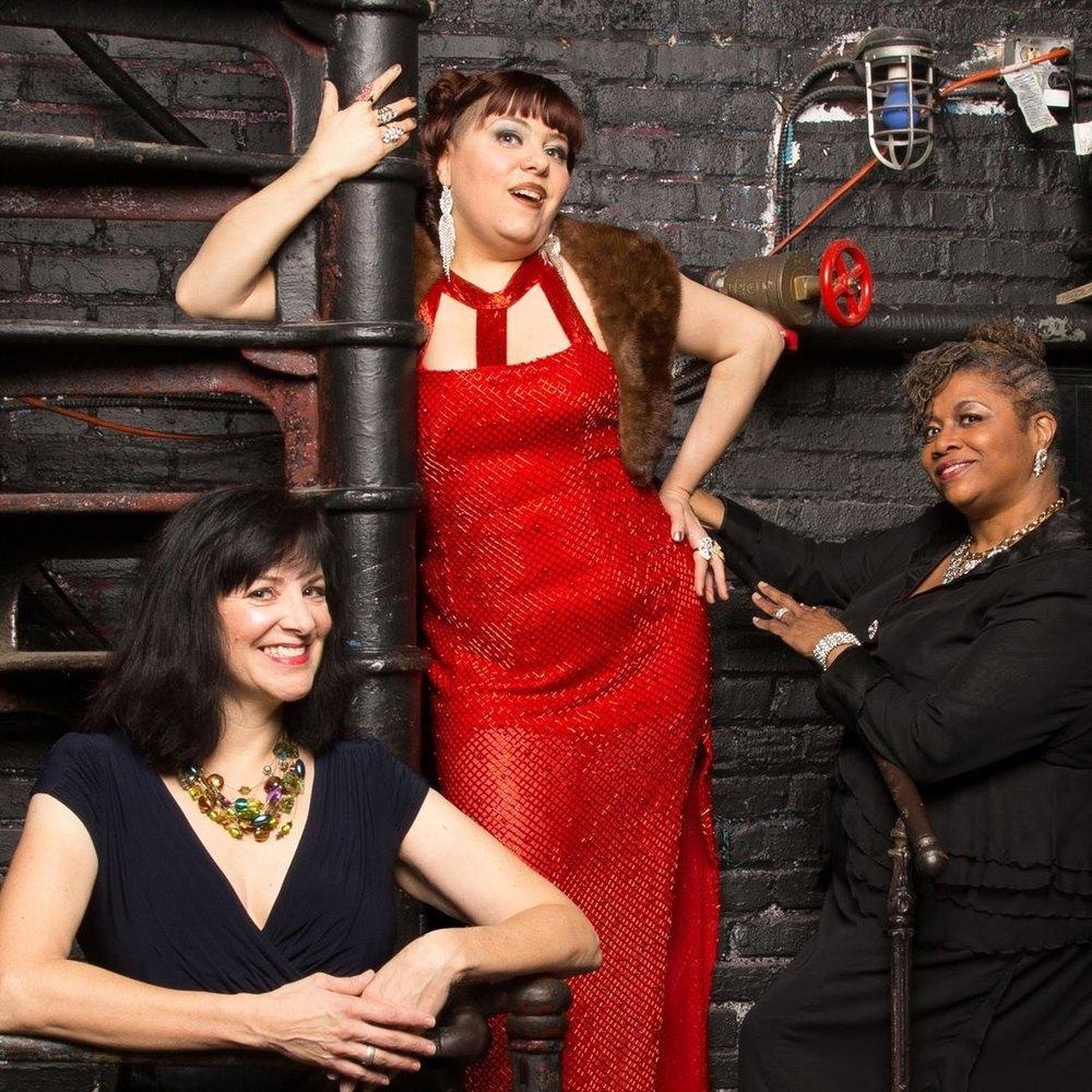 "MB Scallen, Jess Conda and Joillet Harris. 1812 Productions' ""BROADS"""