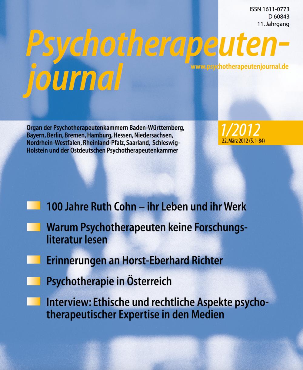 Cover PTJ 2/2012