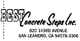 Best Concrete Steps Inc.