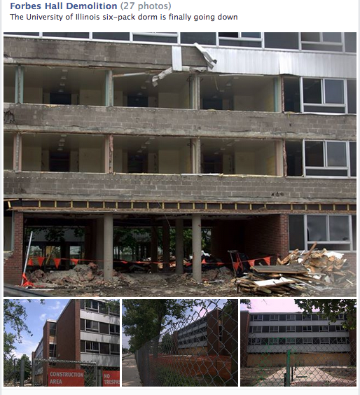 Forbes Hall Demolition album cover